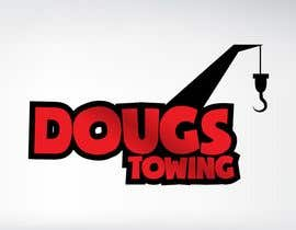 nº 81 pour Logo Design for Dougs Towing par kirstenpeco