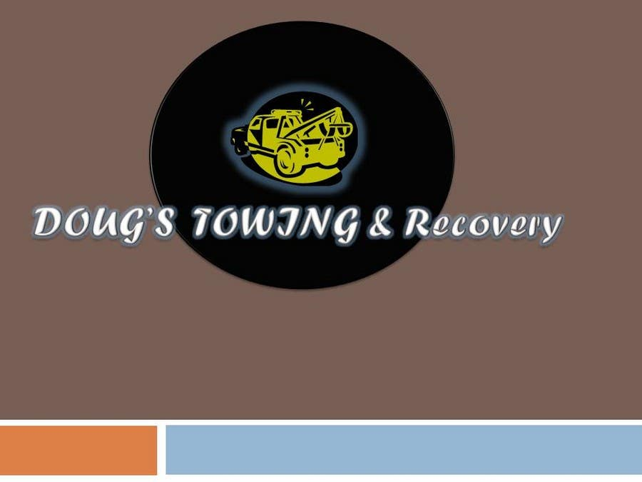 Penyertaan Peraduan #80 untuk Logo Design for Dougs Towing