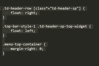 how to get css code on wordpress to work