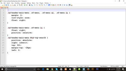 Image of                             write CSS custome code for wordp...