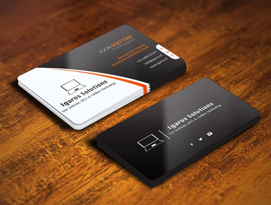 Entry #316 by youart2012 for Business cards design needed! | Freelancer