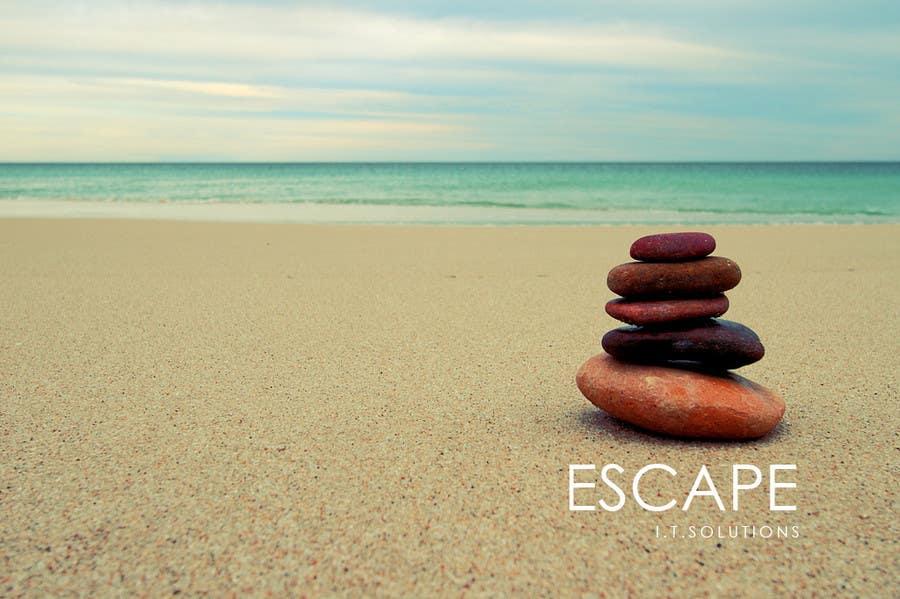 Kilpailutyö #                                        36                                      kilpailussa                                         Graphic Design for Escape I.T Solutions