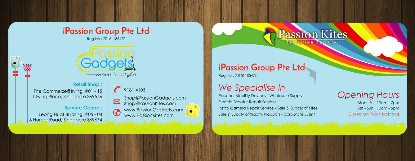 Entry #39 by petersamajay for Re-Design a Business Cards / Name ...