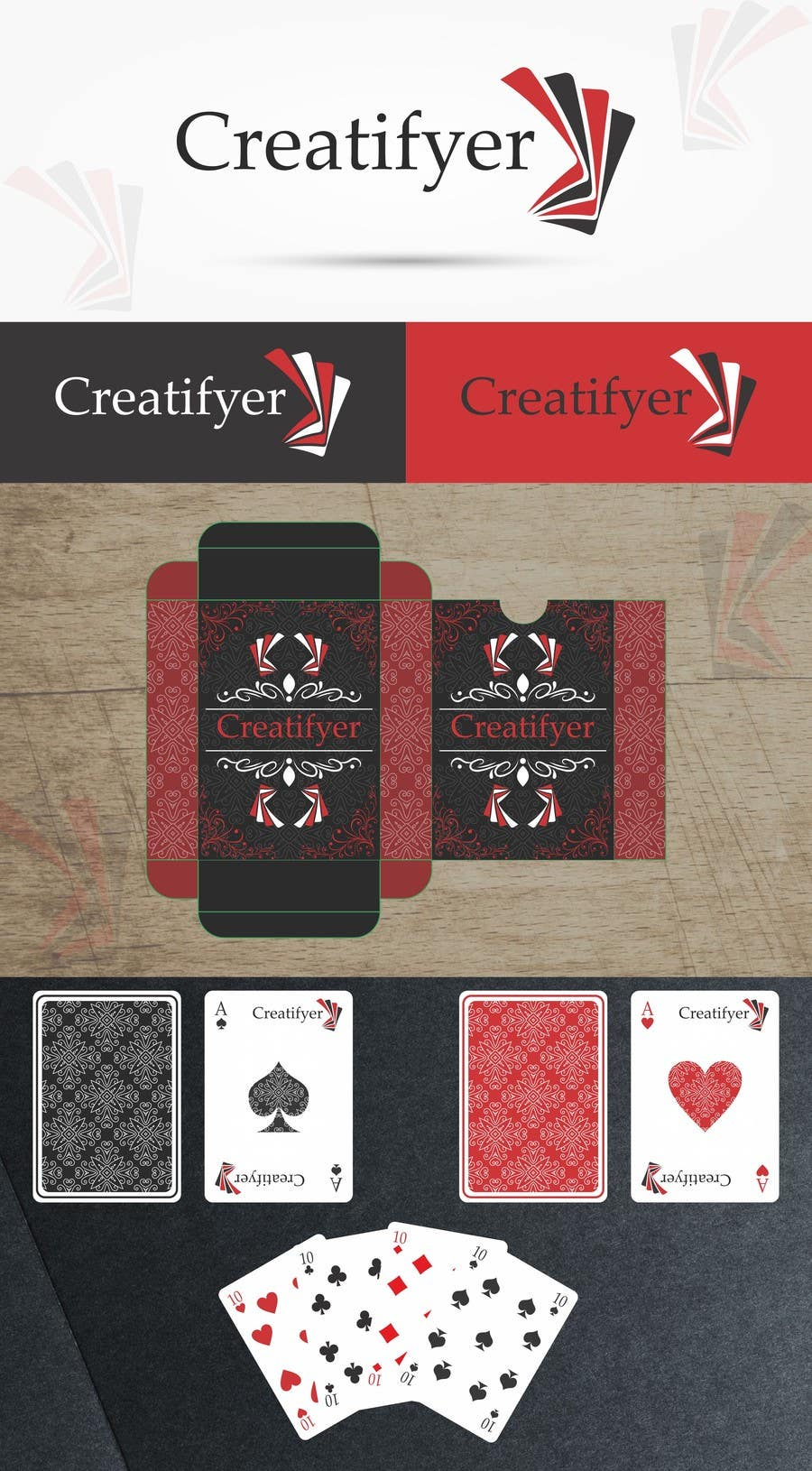 #94 for Design logo, box and play cards by doallmybest