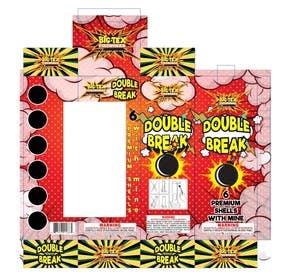 #6 for Redesign the graphics for a box of re-loadable artillery shell fireworks by ghielzact