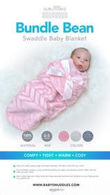 #3 para Retail Store Poster for Baby Swaddle de Nadasol