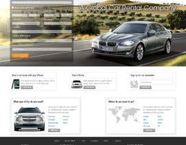 #62 para Website Design for Avid Car Hire por hibernicus