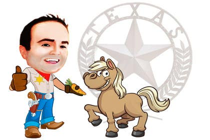 #22 für Design a T-Shirt LLoyd feeding the pony von tarekgueham