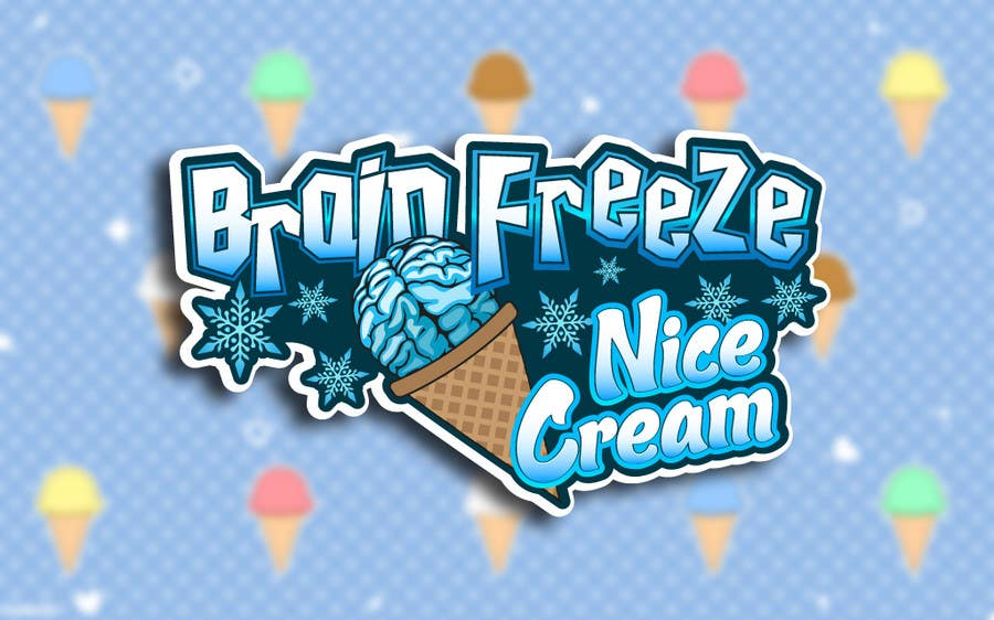 #12 for Develop a Sign for Brain Freeze NiceCream by Plastmass
