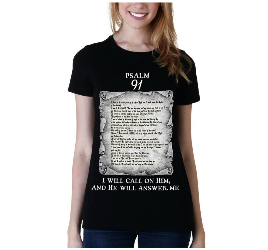 Konkurrenceindlæg #                                        9                                      for                                         Design a T-Shirt for Christian T-shirt company