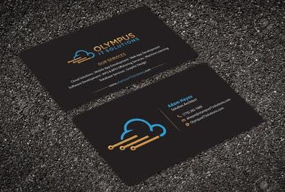 #124 for Design some Business Cards for an IT company af aminur33