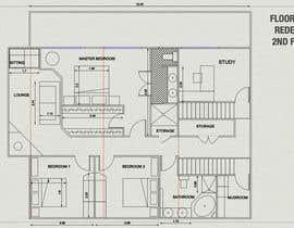 paraskevi tarafından Floor Plan Redesign for 2 Rooms için no 29