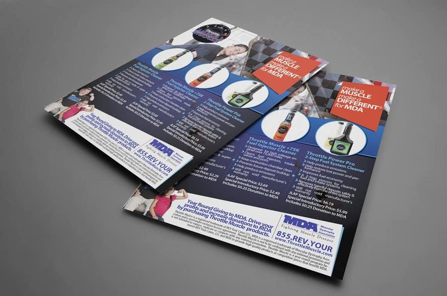 Konkurrenceindlæg #39 for Brochure Design for Throttle Muscle