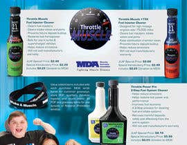 #46 para Brochure Design for Throttle Muscle por csoxa