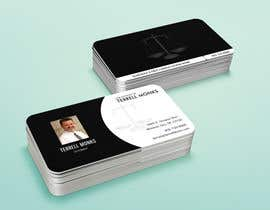 #46 cho Design Business Cards for a Law Office bởi ThanukuSankar