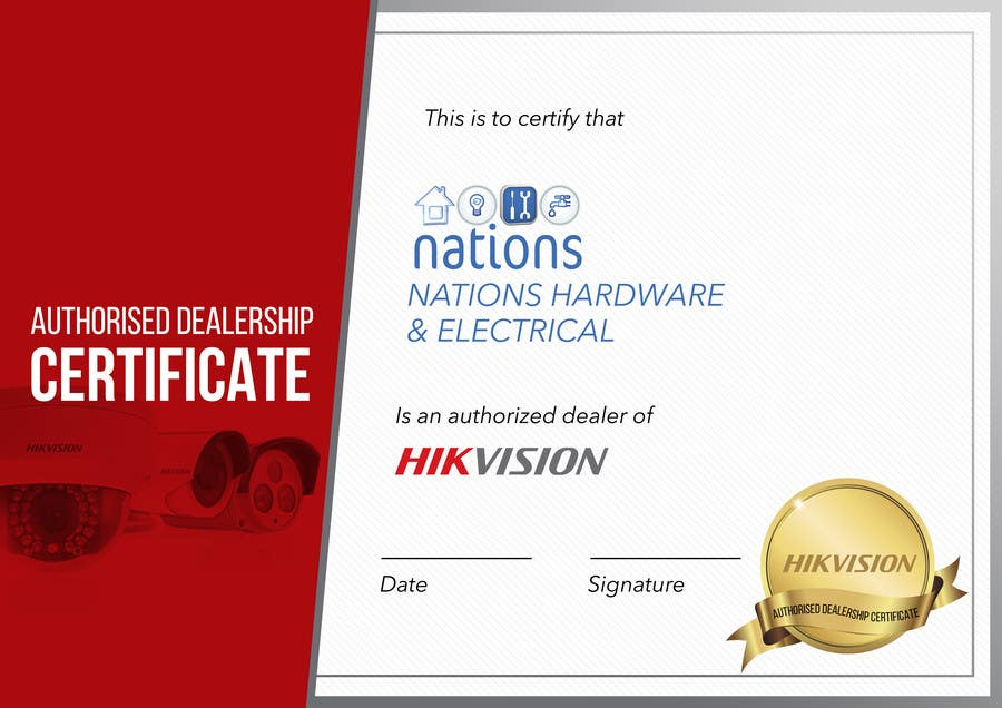Authorized Dealer Certificate Image Collections Download