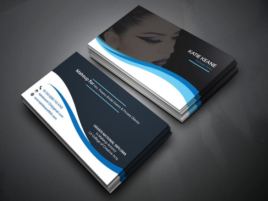 Entry 12 By Joruribarta For Makeup Artist Business Cards Freelancer
