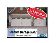 Contest Entry #9 for Graphic Design for Reliable Garage Door
