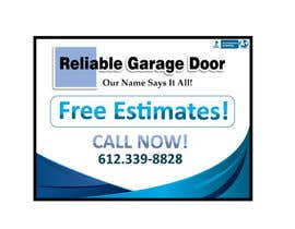 #14 para Graphic Design for Reliable Garage Door por Designsthatshine
