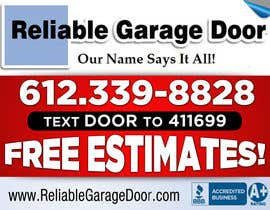 #104 para Graphic Design for Reliable Garage Door por su1d