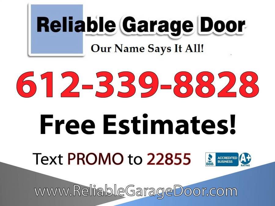 Bài tham dự cuộc thi #20 cho Graphic Design for Reliable Garage Door