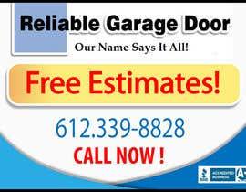 #49 for Graphic Design for Reliable Garage Door by dirav