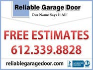 Contest Entry #25 for Graphic Design for Reliable Garage Door