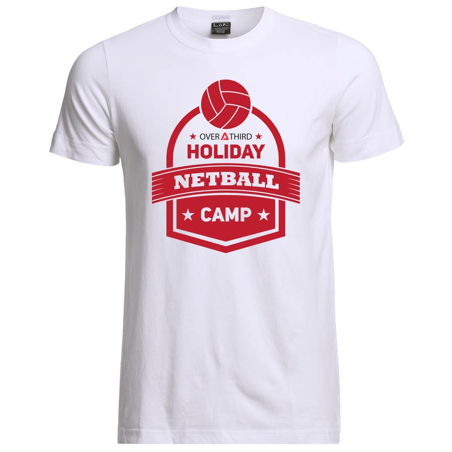 Design t shirt netball - Contest Entry 15 For Netball Camp T Shirt Design