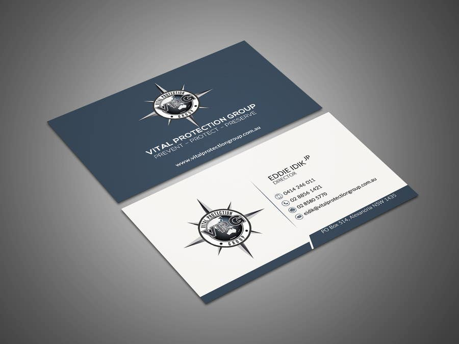 Entry #63 by mehfuz780 for Design a business card for Security ...
