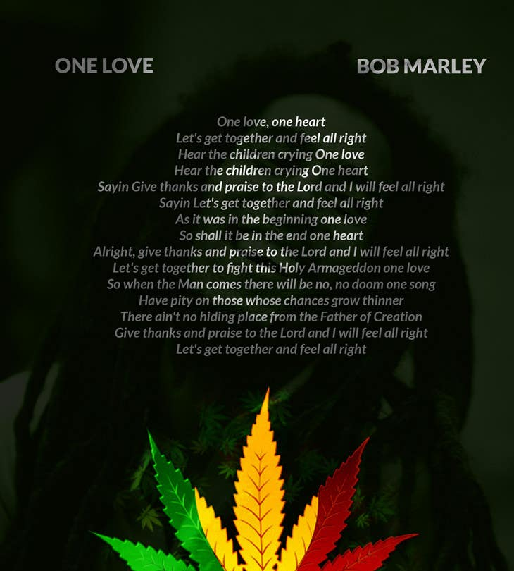 Entry 1 By Zeljkokosovac For Bob Marley One Love Freelancer