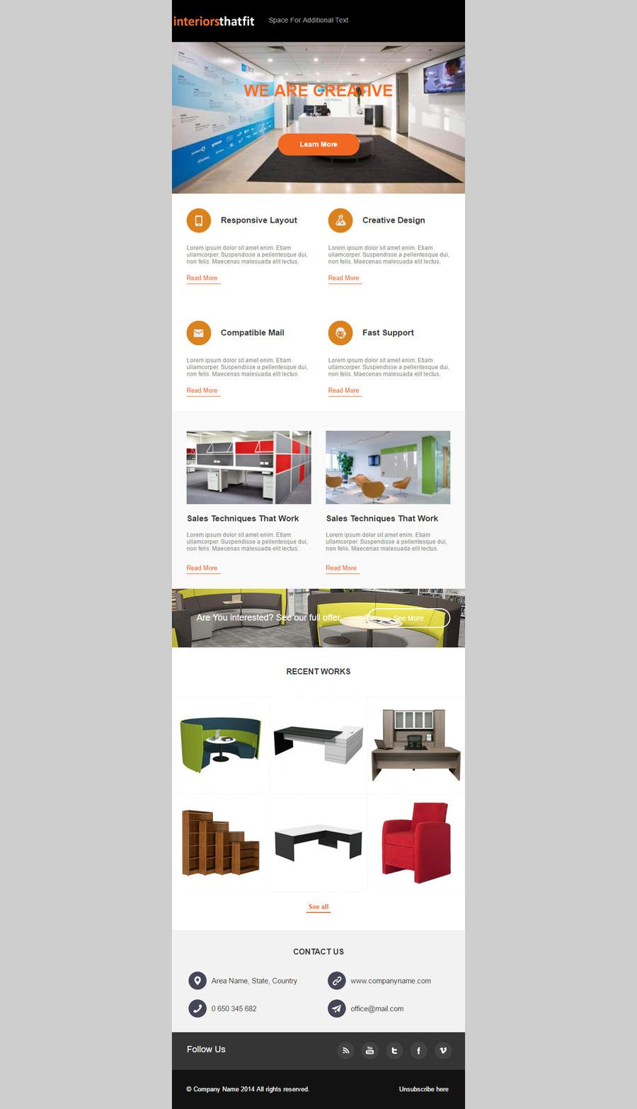 Entry By Sitecmsro For Design A Mailchimp Newsletter Template - Mailchimp template ideas