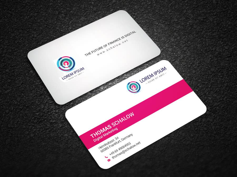 Entry #24 by sumonbgh for Business Card for a Digital Marketing ...