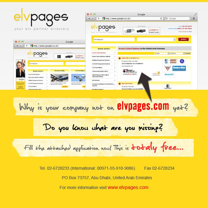 Konkurrenceindlæg #                                        7                                      for                                         Graphic Design for elvpages.com