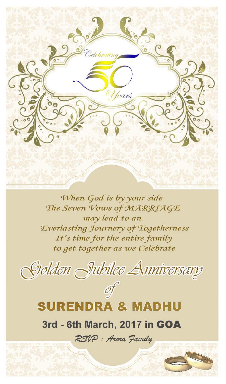 Entry #33 by nishthajain13 for Invitation Card design | Freelancer