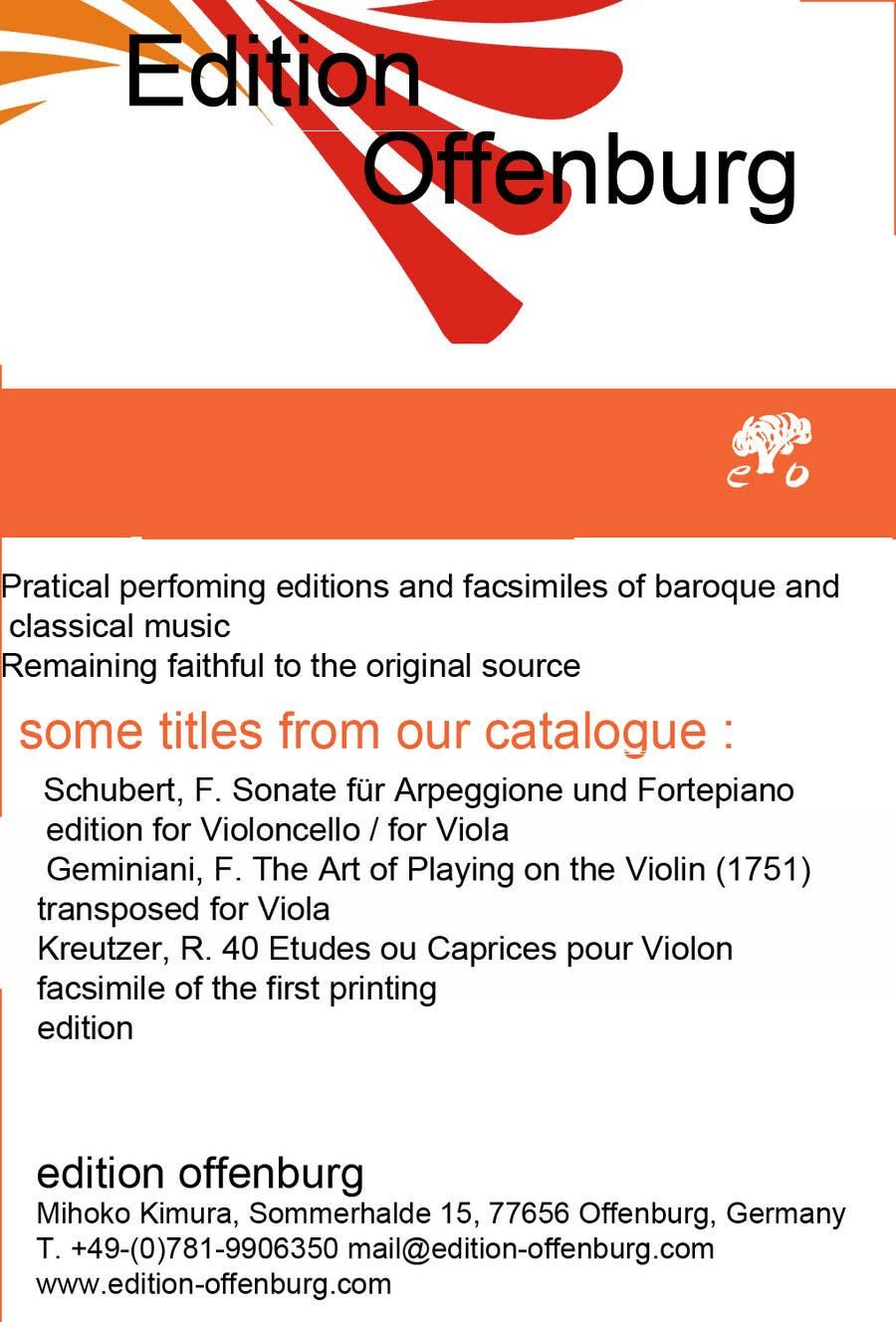 Bài tham dự cuộc thi #                                        4                                      cho                                         Graphic Design for edition offenburg