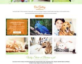 Nro 35 kilpailuun Design a Website Mockup for a pet site käyttäjältä ravinderss2014