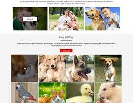 Nro 37 kilpailuun Design a Website Mockup for a pet site käyttäjältä ravinderss2014