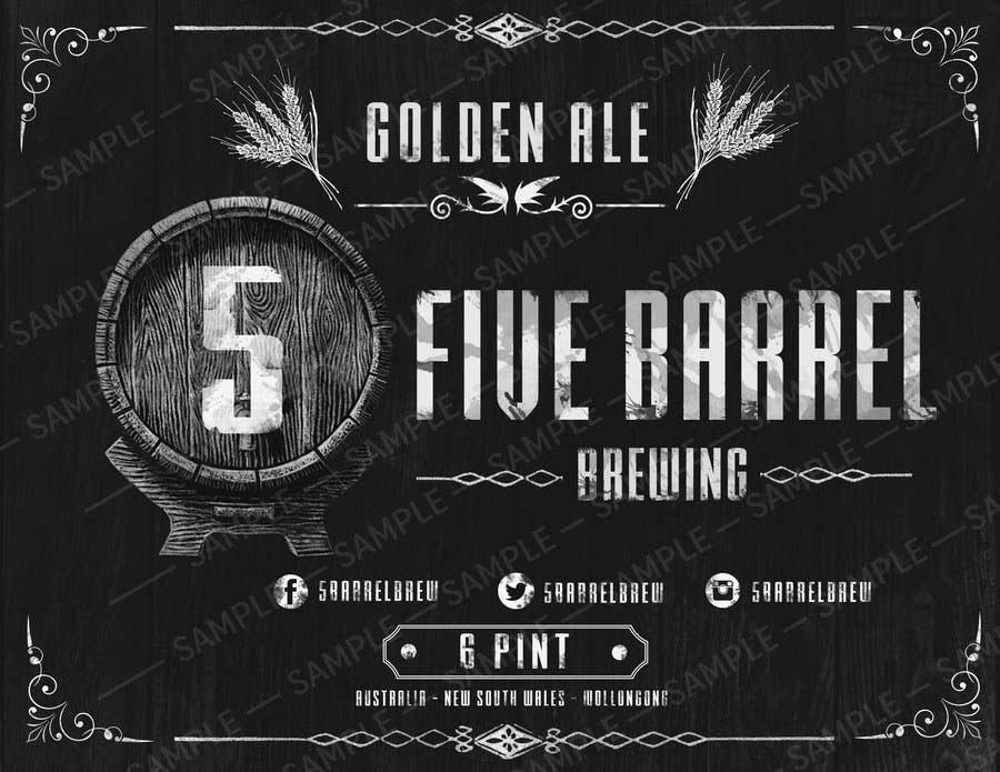 Entry 8 By Esets For Craft Brewery Growler Squealer Design Freelancer