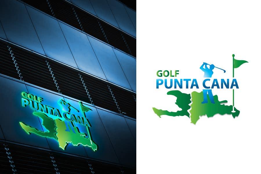 Penyertaan Peraduan #                                        78                                      untuk                                         Logo Design for Golf Punta Cana