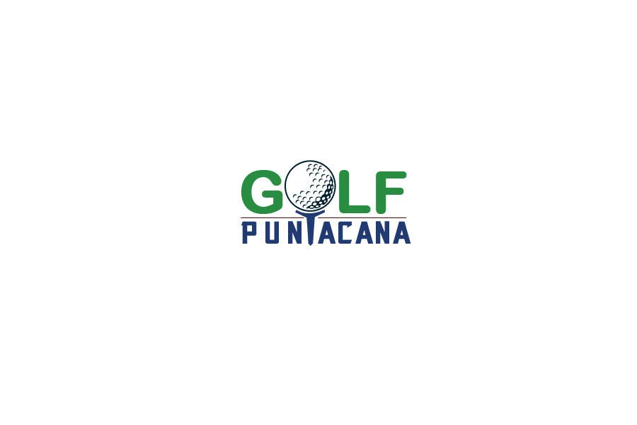 Konkurrenceindlæg #                                        7                                      for                                         Logo Design for Golf Punta Cana