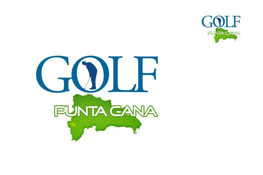 Penyertaan Peraduan #                                        98                                      untuk                                         Logo Design for Golf Punta Cana