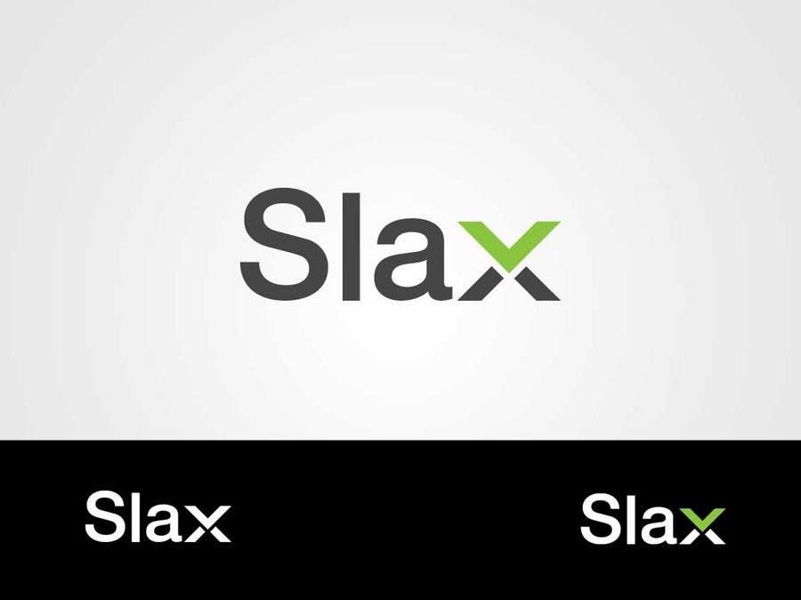#142 for Logo Design for Slax by IzzDesigner