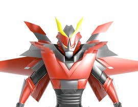 #20 cho Anime Super Robot 3D Model Textured Rigged bởi Skyzon