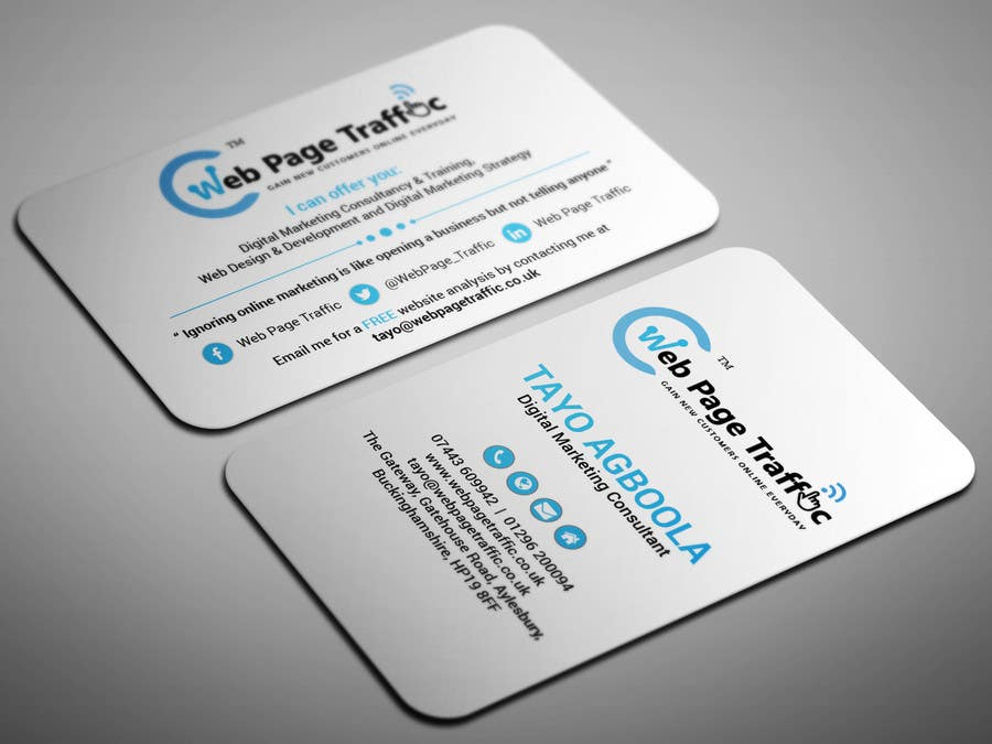 Design a two business card freelancer reheart Gallery