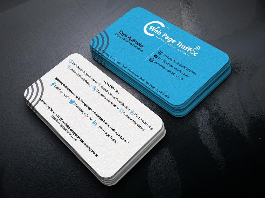 Entry 51 by monir7554 for design a two business card freelancer contest entry 51 for design a two business card colourmoves