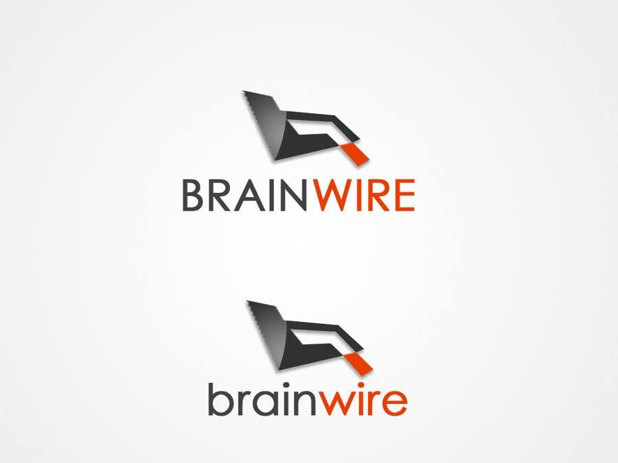 Penyertaan Peraduan #527 untuk Logo Design for brainwire