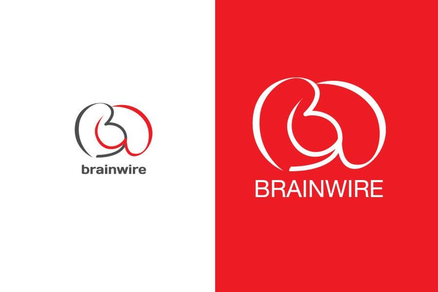 Penyertaan Peraduan #459 untuk Logo Design for brainwire