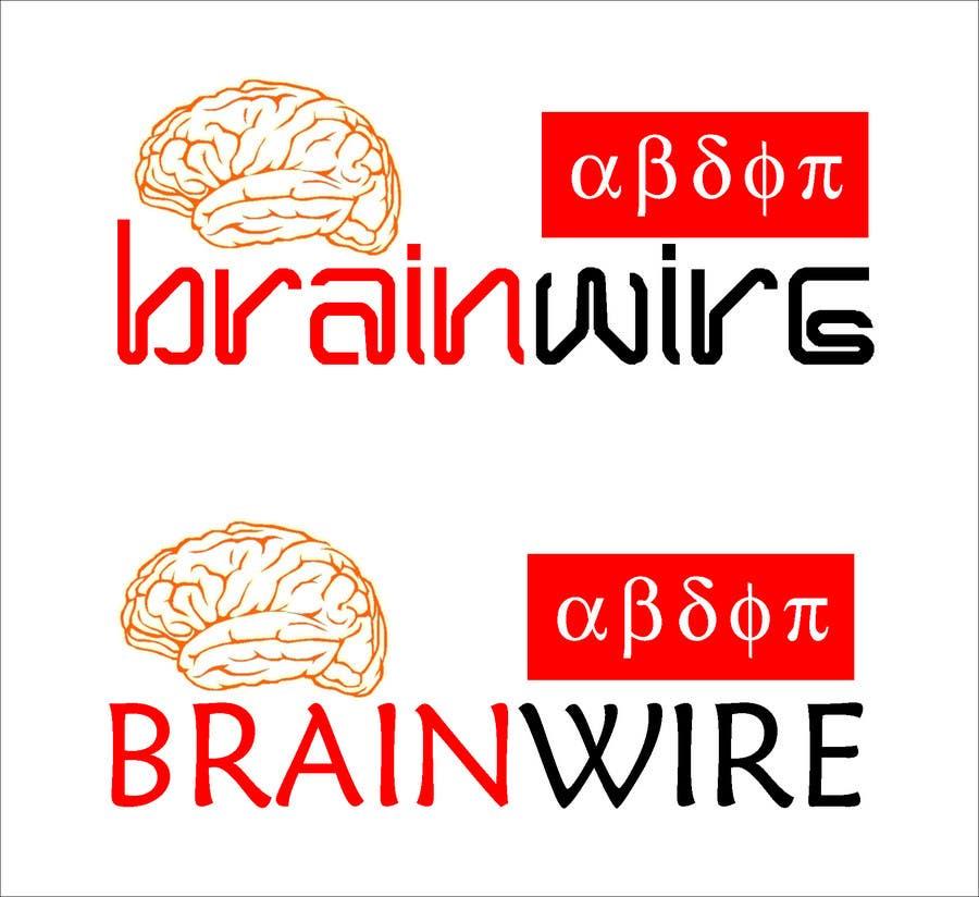 Penyertaan Peraduan #477 untuk Logo Design for brainwire