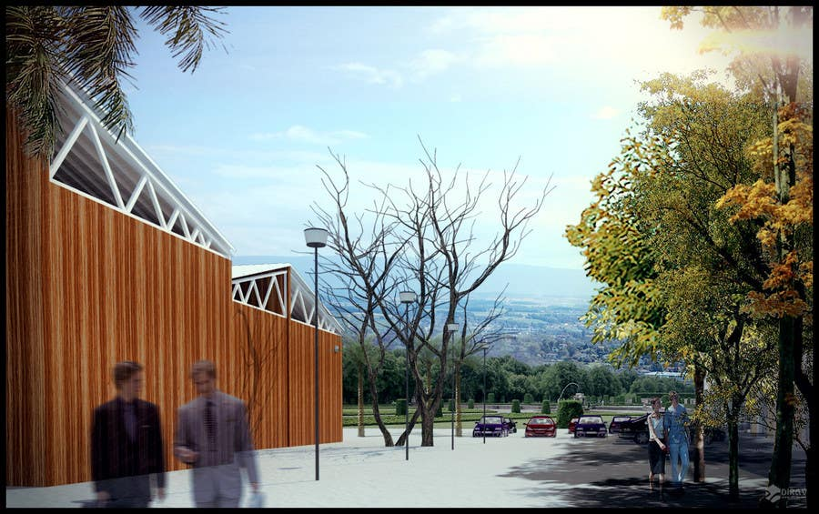 Inscrição nº                                         48                                      do Concurso para                                         3D Rendered Drawing Designs of a Real Estate Development for Linn Industries