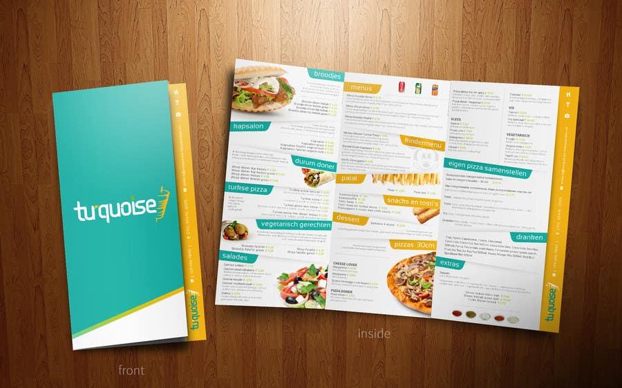 Entry by redundantdesigns for modern restaurant menu